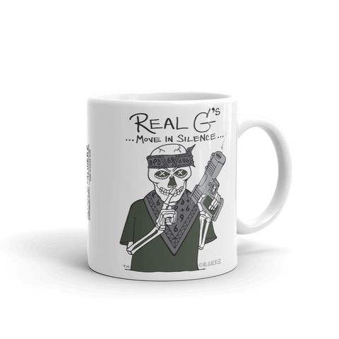 Real G's Move In Silence — Coffee Cup