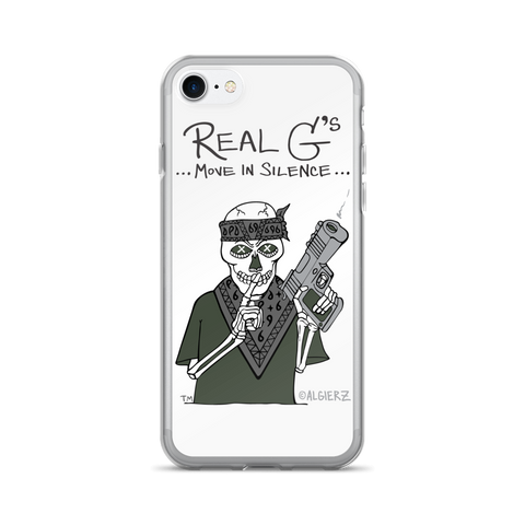 Real G's Move in Silence iPhone Case