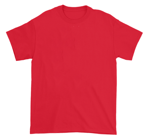 "Algierz ""Basic"" - Red T-Shirt"