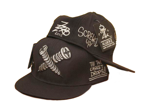 Screwed Up (Black) Hat