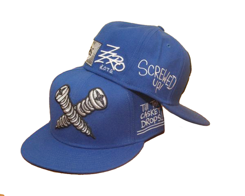 Screwed Up (Blue) Hat