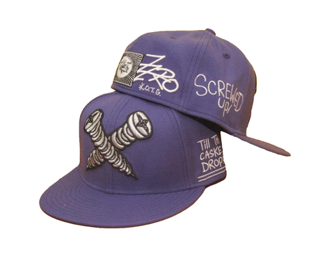 Screwed Up (purple) Hat