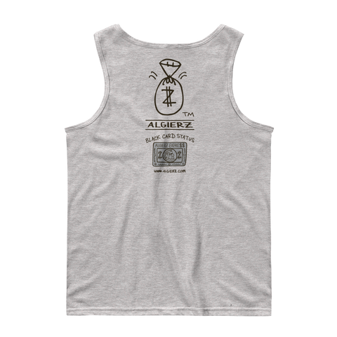 Black Card Status (grey) Tank