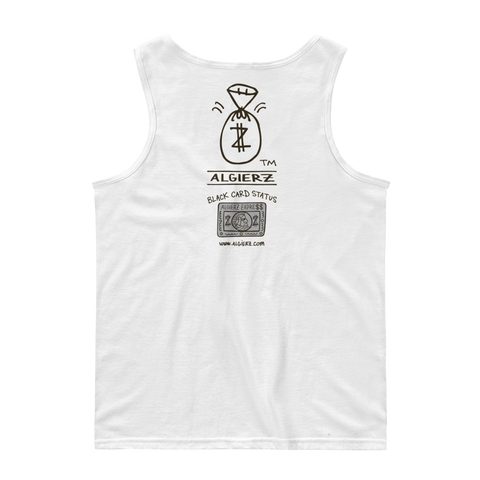 Black Card Status (white) Tank