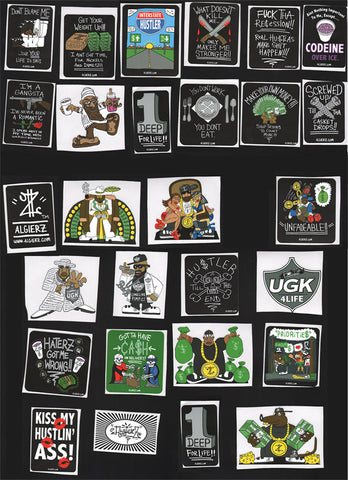 Sticker Pack (Variety of 20)