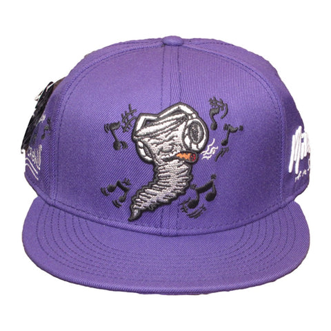 Still Jammin Screw - Snapback Hat - Purple