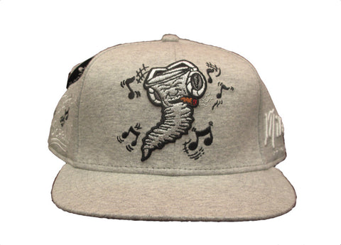 Still Jammin Screw - Snapback Hat - Grey