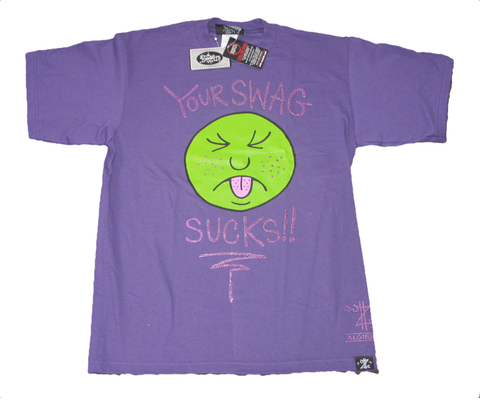 Your Swag Sucks! (T-Shirt) purple
