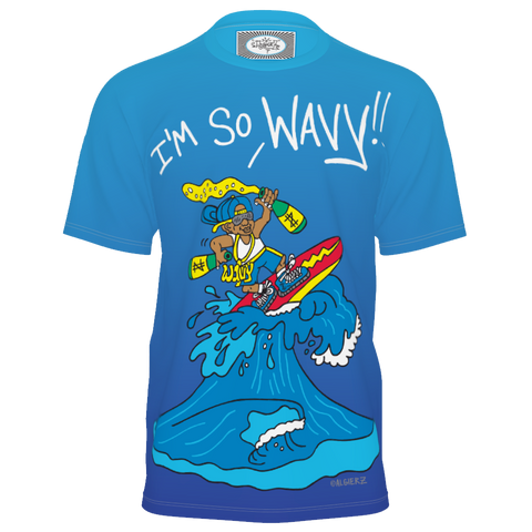 I'm So Wavy (blue) T-shirt