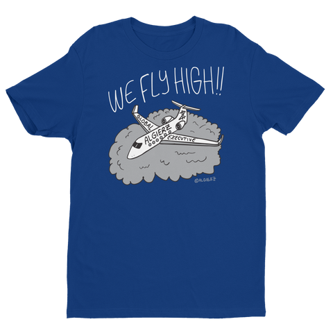 We Fly High (Royal Blue) T-Shirt