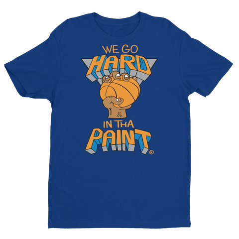 We Go Hard In The Paint (blue) T-shirt