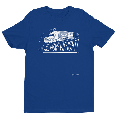 We Move Weight (Royal Blue) T-Shirt