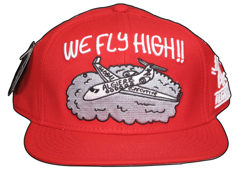 We Fly High - Snapback Red