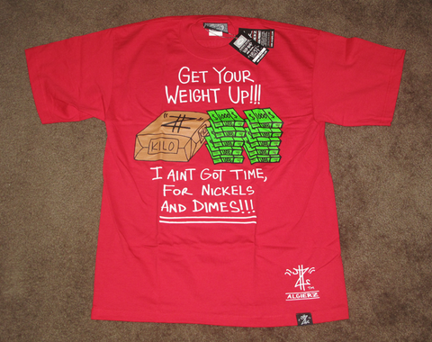 Get Your Weight Up (red) T-Shirt