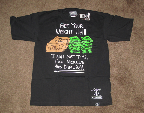 Get Your Weight Up (black) T-Shirt