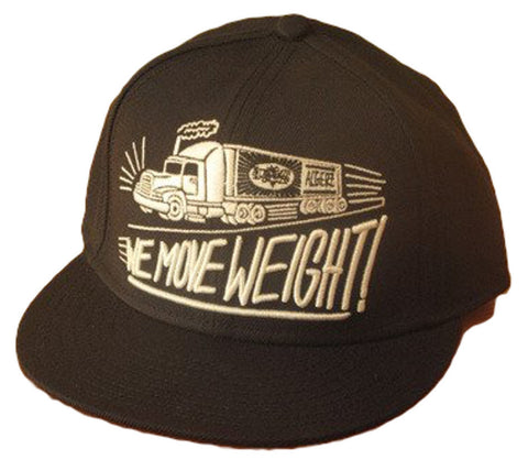We Move Weight (Black) Hat