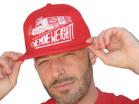 We Move Weight (Red) Hat
