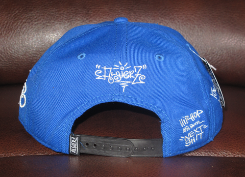 You Don't Work - Blue Snapback Hat