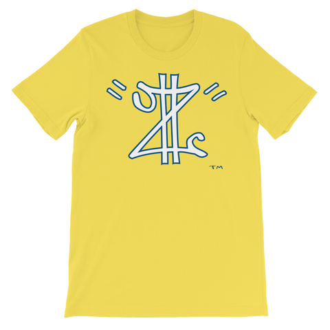 Z Money - Yellow T-Shirt w/Navy & White