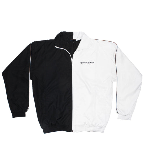 CHESS ZIP UP B/W