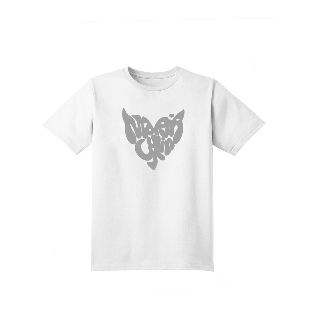 HEART T-SHIRT 3M WHITE