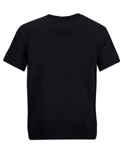 COTTON MERCH TEE BLACK
