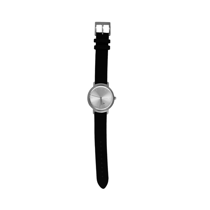 BLACK / SILVER UNISEX WATCH