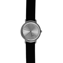 Load image into Gallery viewer, BLACK / SILVER UNISEX WATCH
