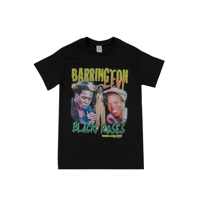 BARRINGTON LEVY T-SHIRT BLACK