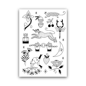 'FLASH SHEET 2' by Victoria Absurd