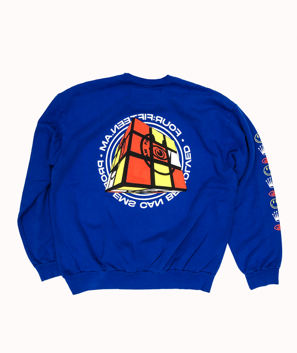 02.020 CREWNECK SWEATSHIRT BLUE