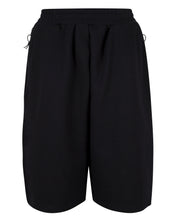 Load image into Gallery viewer, FLEECE DECK SHORT BLACK