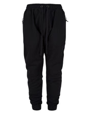 Load image into Gallery viewer, FLEECE PANEL JOGGERS BLACK