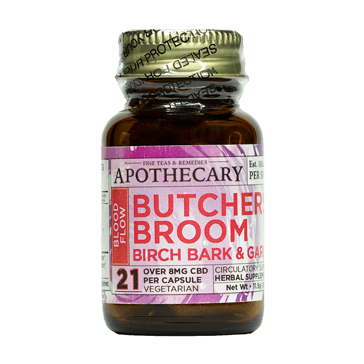 APOTHECARY BROTHERS CAPSULES | BUTCHERS BROOM | 1OZ