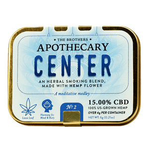 APOTHECARY BROTHERS SMOKING BLEND | CENTER