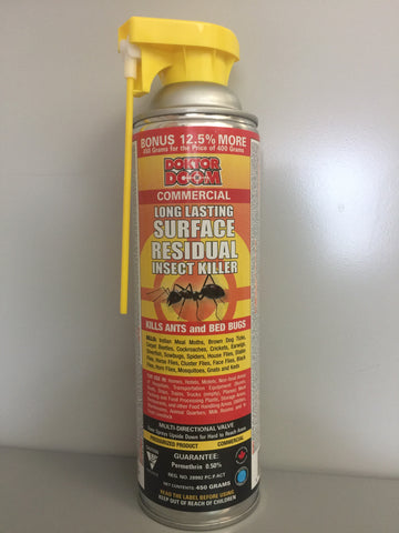 Doktor Doom Long Lasting Surface Residual Insect Killer Spray