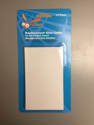 Flyweb Replacement Glue Cards