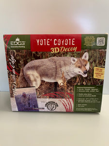 Coyote 3D Decoy