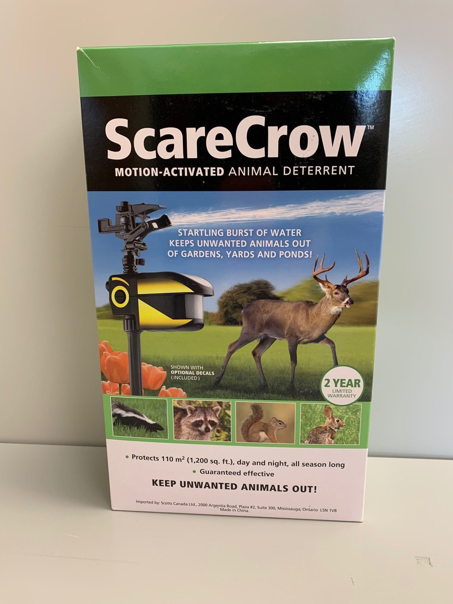 Scare Crow - Motion Activated Deterrent