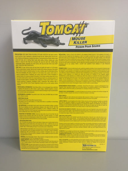 Tomcat 4 Pack Mouse Bait Stations