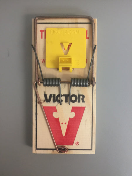 Viktor Wooden Snap Traps - Size: Large
