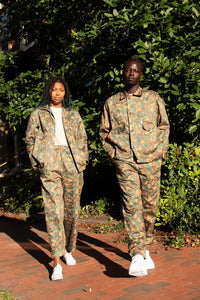 Women's Loquat Camo Trouser - Fresh