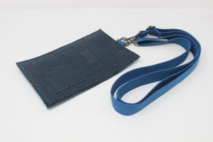 Navy Pineapple Passport Pouch