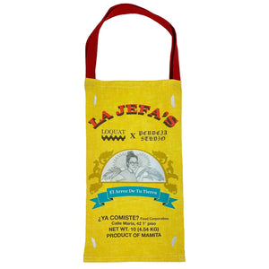LA JEFA'S Rice Bag Tote