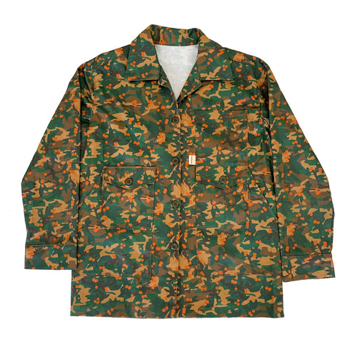 Women's Loquat Camo Jacket - Fresh