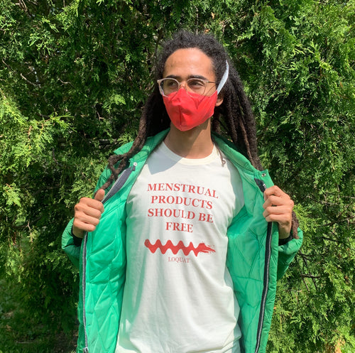 MENSTRUAL PRODUCTS SHOULD BE FREE - tee