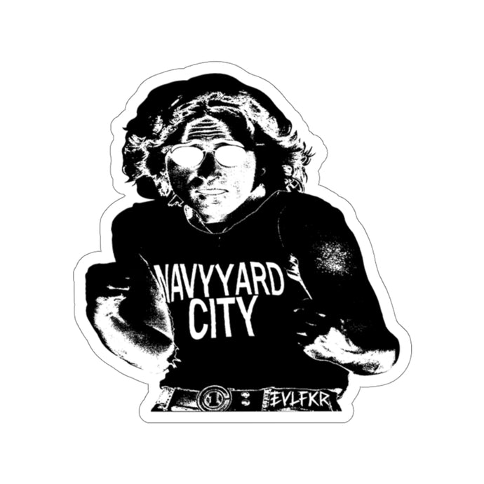 EVLFKR-NAVY YARD CITY sticker