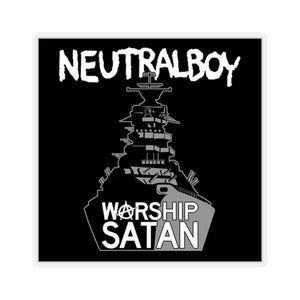 "Neutral Boy ""WARSHIP"" sticker"