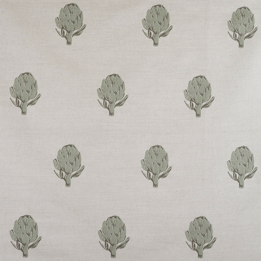 Green Artichoke Fabric