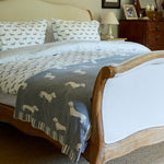 Grey Dachshund Bed Linen